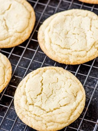 Soft and Chewy Sugar Cookie Recipe