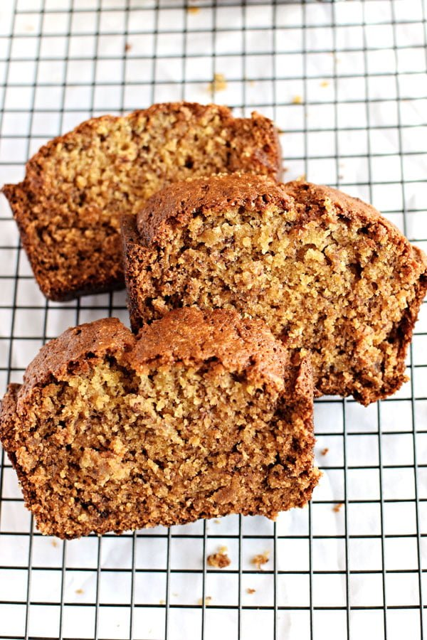 Classic banana bread homemade hooplah classic banana bread the real deal banana bread great just by itself or as forumfinder Image collections