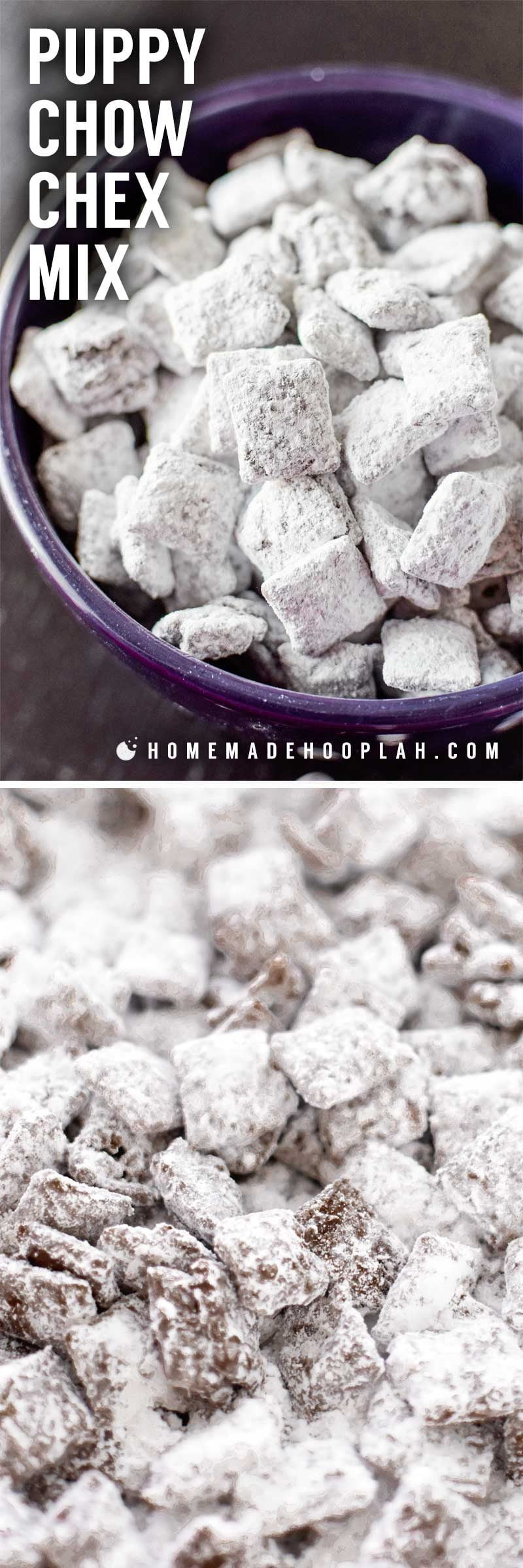 How to make muddy buddies.