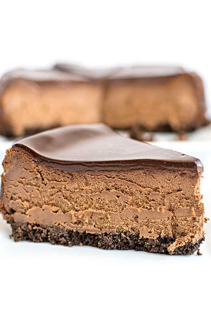 Chocolate Cheesecake - Homemade Hooplah
