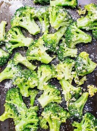 Garlic Parmesan Broccoli