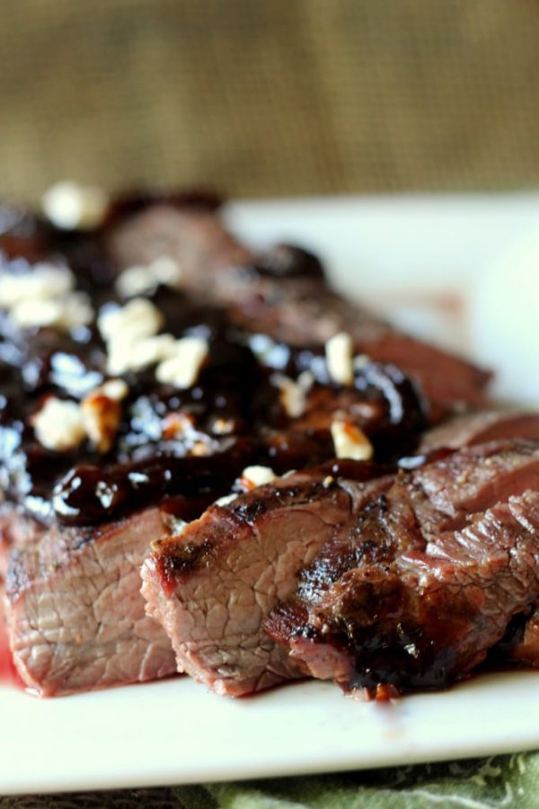 Grilled Flank Steak from Black Berry Babe