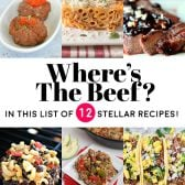 """Where's the Beef? 12 great recipes to give you inspiration to spice up """"steak night"""" at your house! 