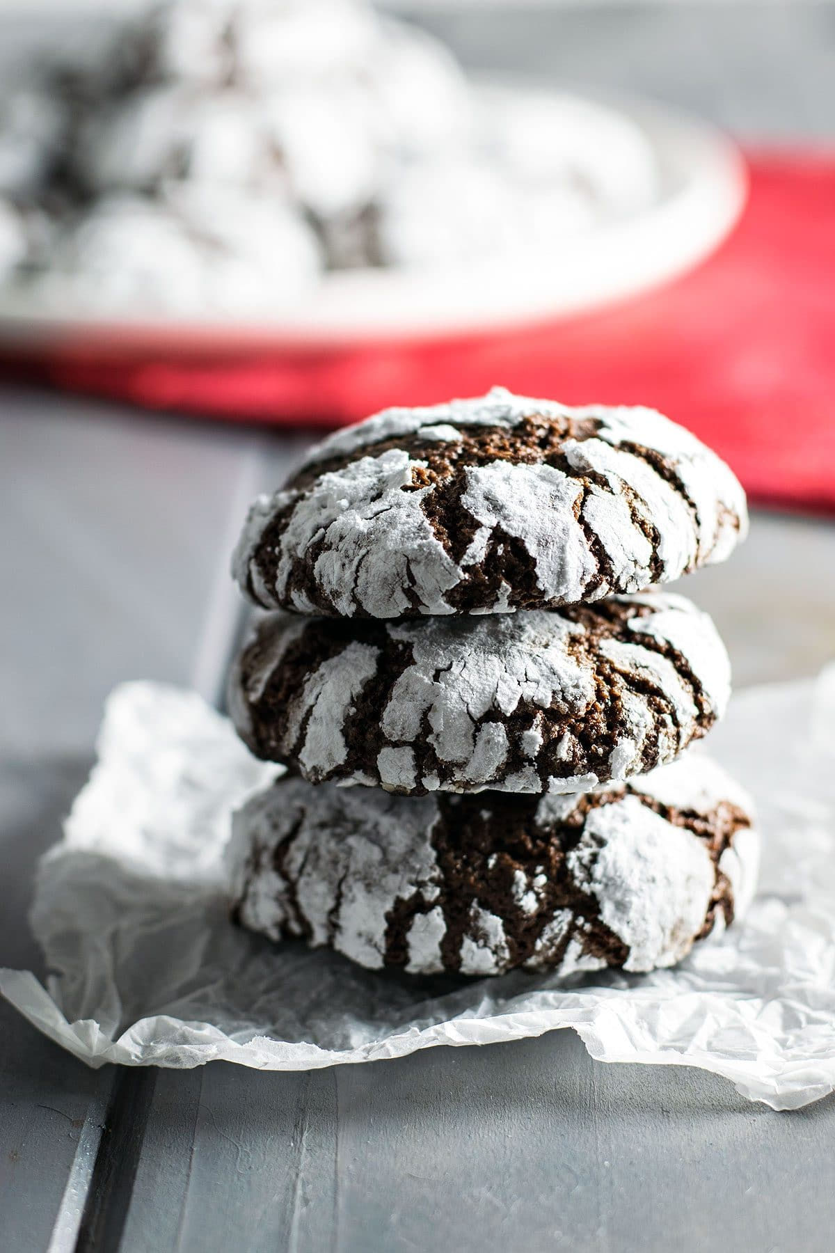 Classic Chocolate Crinkle Cookies - Homemade Hooplah