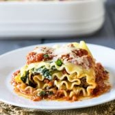 Chicken and Sun Dried Tomato Lasagna Roll-Ups! Take the delicious combo of chicken and sun dried tomatoes and wrap them up in a lasagna roll-up. Two great classics make a bold new flavor!   HomemadeHooplah.com