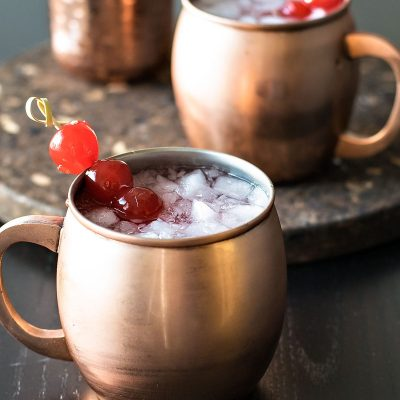 Very Cherry Moscow Mule