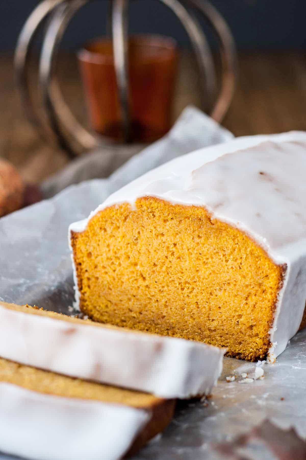 One Bowl Pumpkin Bread from Liv for Cake | 20 Sweet and Decadent Breads! Whether it's for breakfast, lunch, or dinner, these sweet and decadent dessert breads are just what you need! | HomemadeHooplah.com