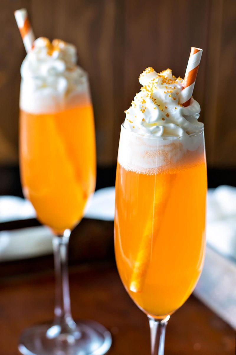 Orange Creamsicle Cocktail - Homemade Hooplah