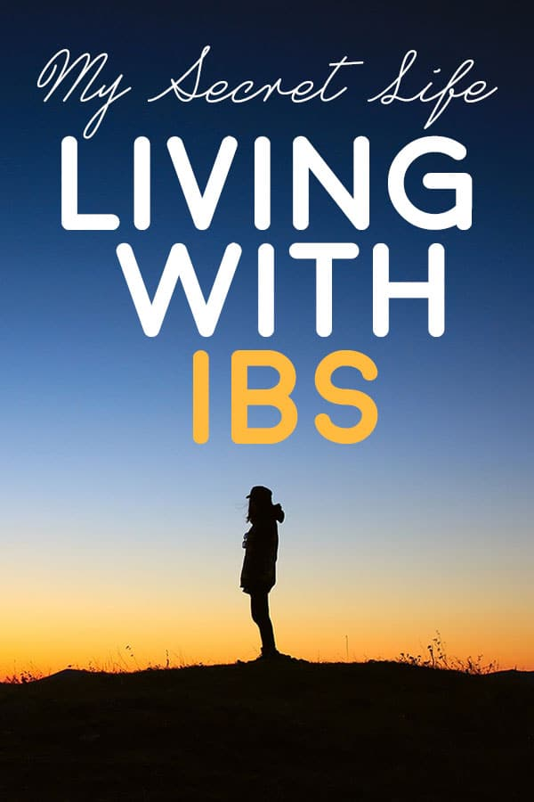 My Secret Life: Living With IBS. Raising awareness by sharing my personal story with IBS and how it's affected the last eighteen years of my life. | HomemadeHooplah.com IBSinAmerica AD