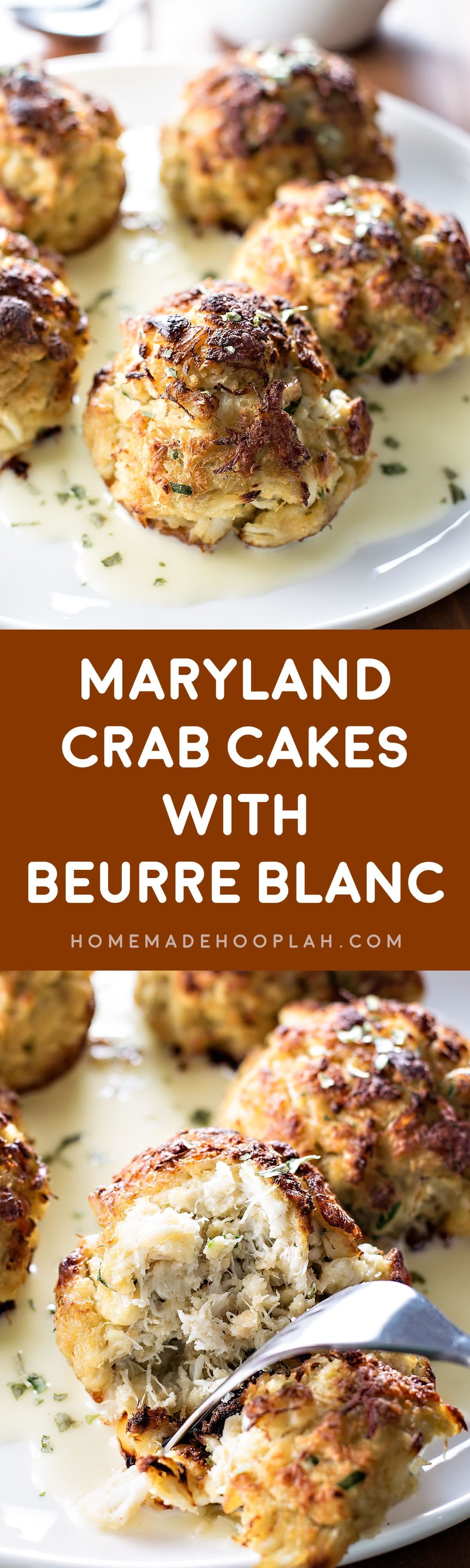 maryland crab cakes with beurre blanc - homemade hooplah