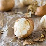 Chinese Tea Leaf Eggs! Celebrate Chinese New Year with traditional Chinese tea leaf eggs, spiked with a touch of orange for good fortune for the next year! #KikkomanCNY #spon @kikkomanusa   HomemadeHooplah.com