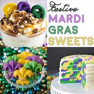 10 Festive Mardi Gras Sweets