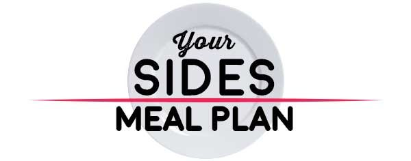 Weekly Meal Plan - Sides