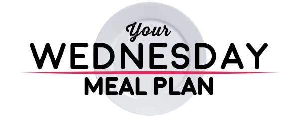 Weekly Meal Plan - Wednesday