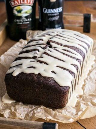 Baileys Dark Chocolate Guinness Bread