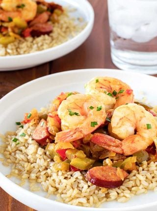 Easy Shrimp Jambalaya