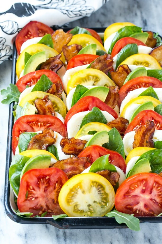 Bacon Caprese Salad
