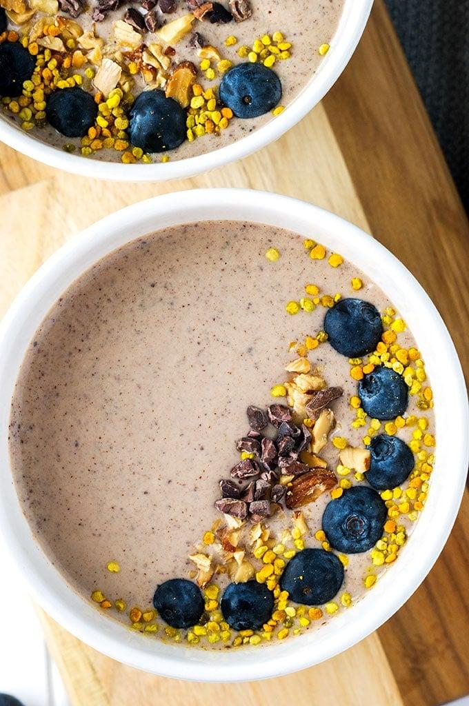 Chocolate Salmon Smoothie Bowl