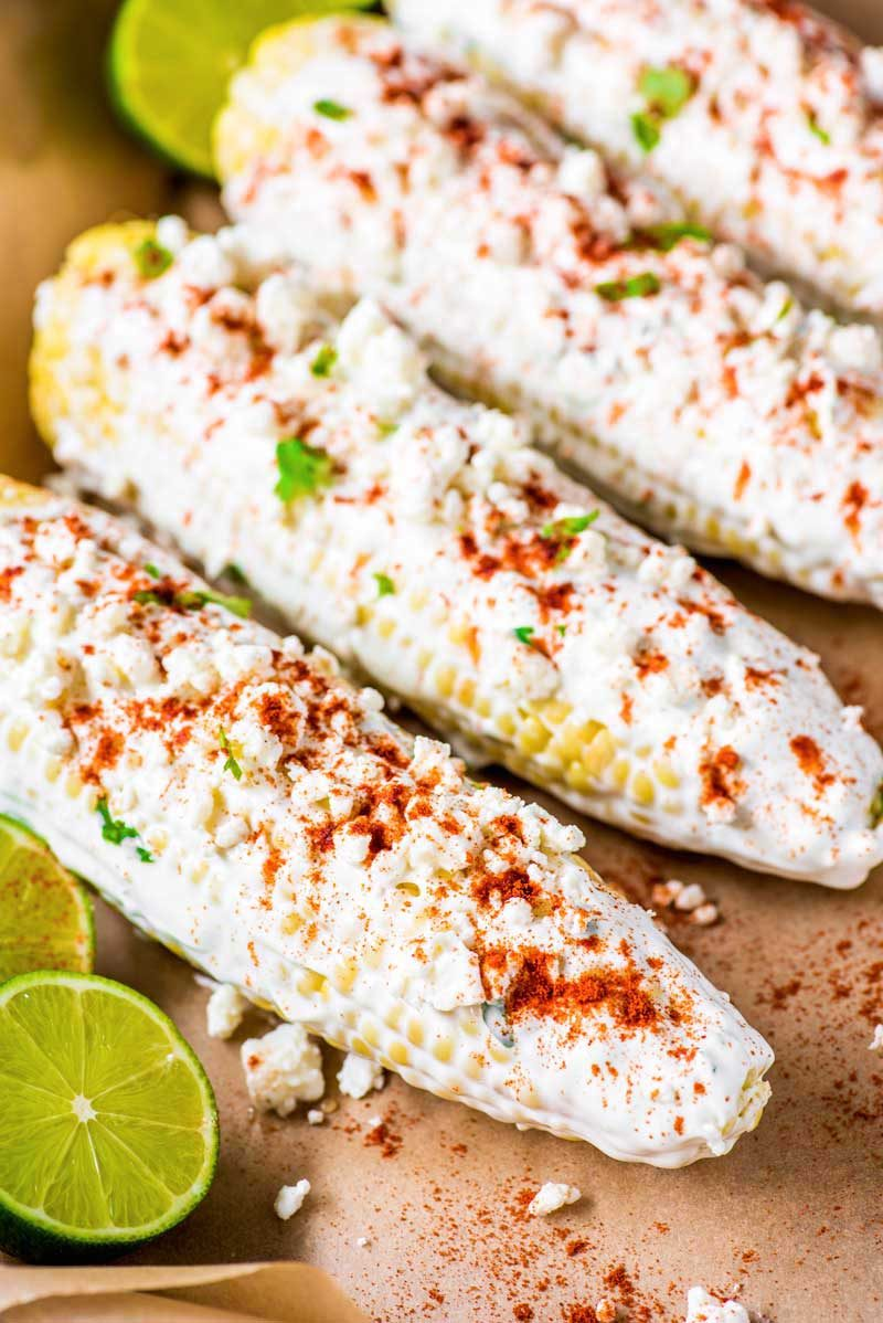 How to make baked Mexican street corn