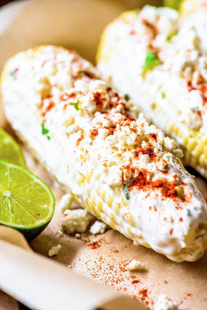 How to bake Mexican corn in the oven