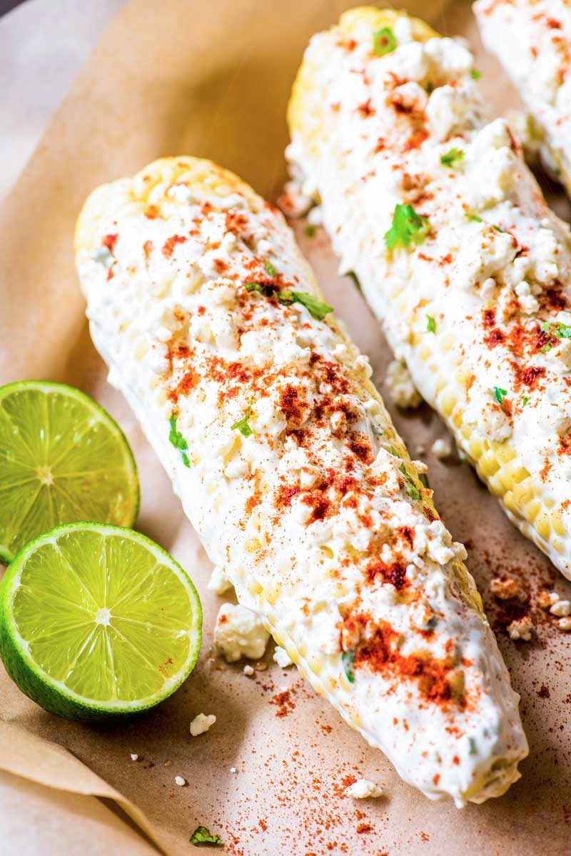 How to make Mexican corn on the cob