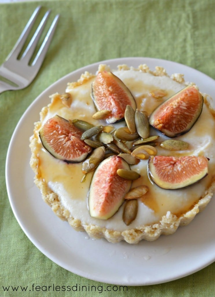Raw No Bake Fig Tarts (Gluten Free!)