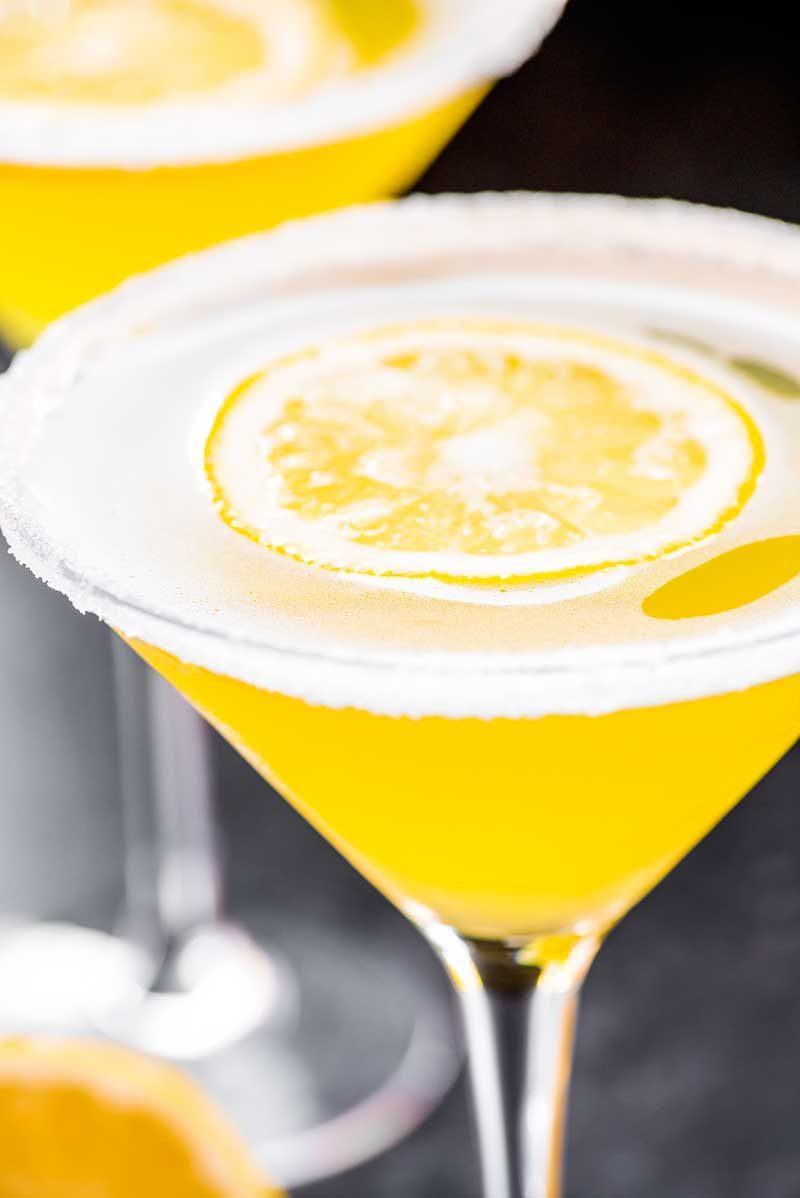 How to make a lemon drop martini.