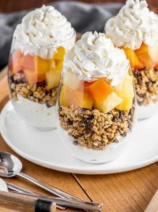 Tropical Fruit Parfaits