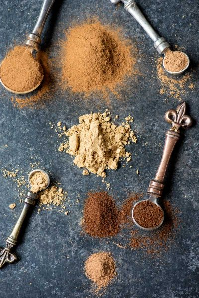 How to Make Pumpkin Pie Spice! Forget to pick up some pumpkin pie spice? Me, too! Thankfully you can make your own pumpkin spice at home with these four common spices! | HomemadeHooplah.com