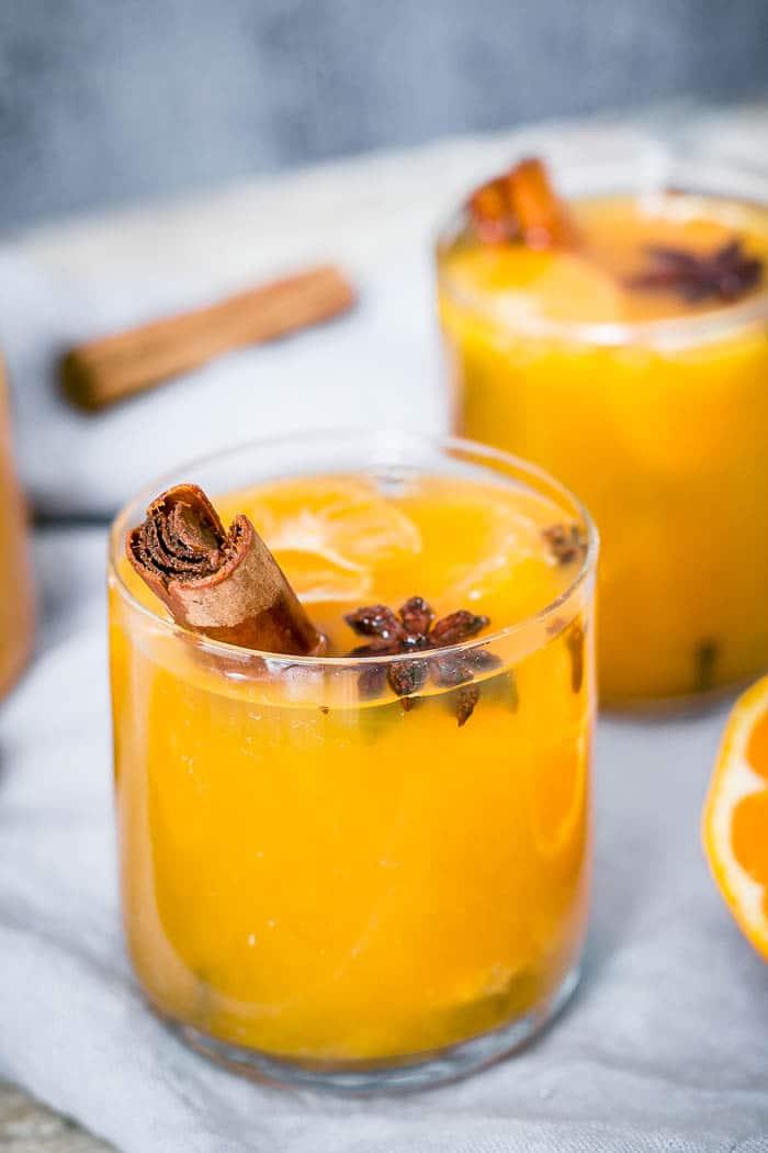 Mulled Mandarin Juice