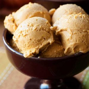 Pumpkin Coffee Ice Cream