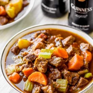Stovetop Beef and Guinness Stew