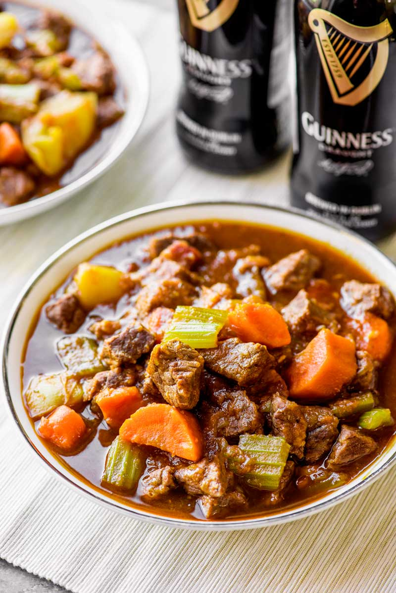 Stovetop Beef And Guinness Stew Homemade Hooplah