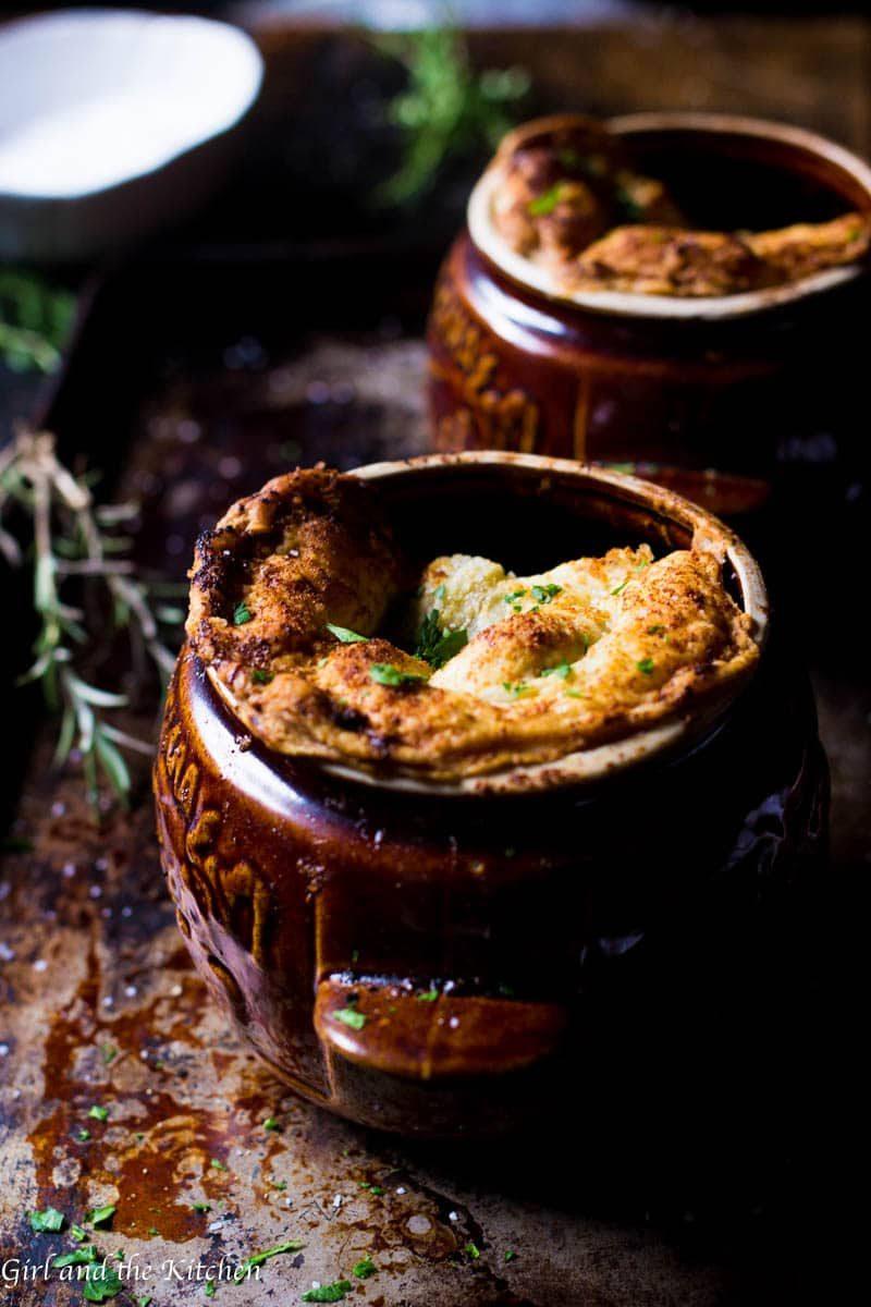 Crock Pot Beef Pot Pies