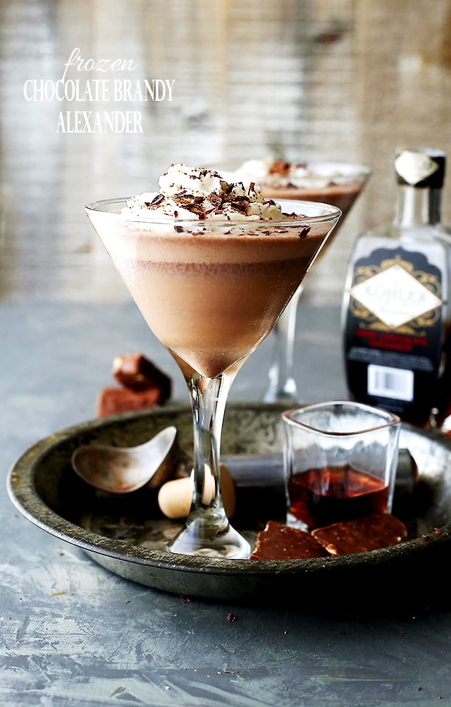 Frozen Chocolate Brandy Alexander