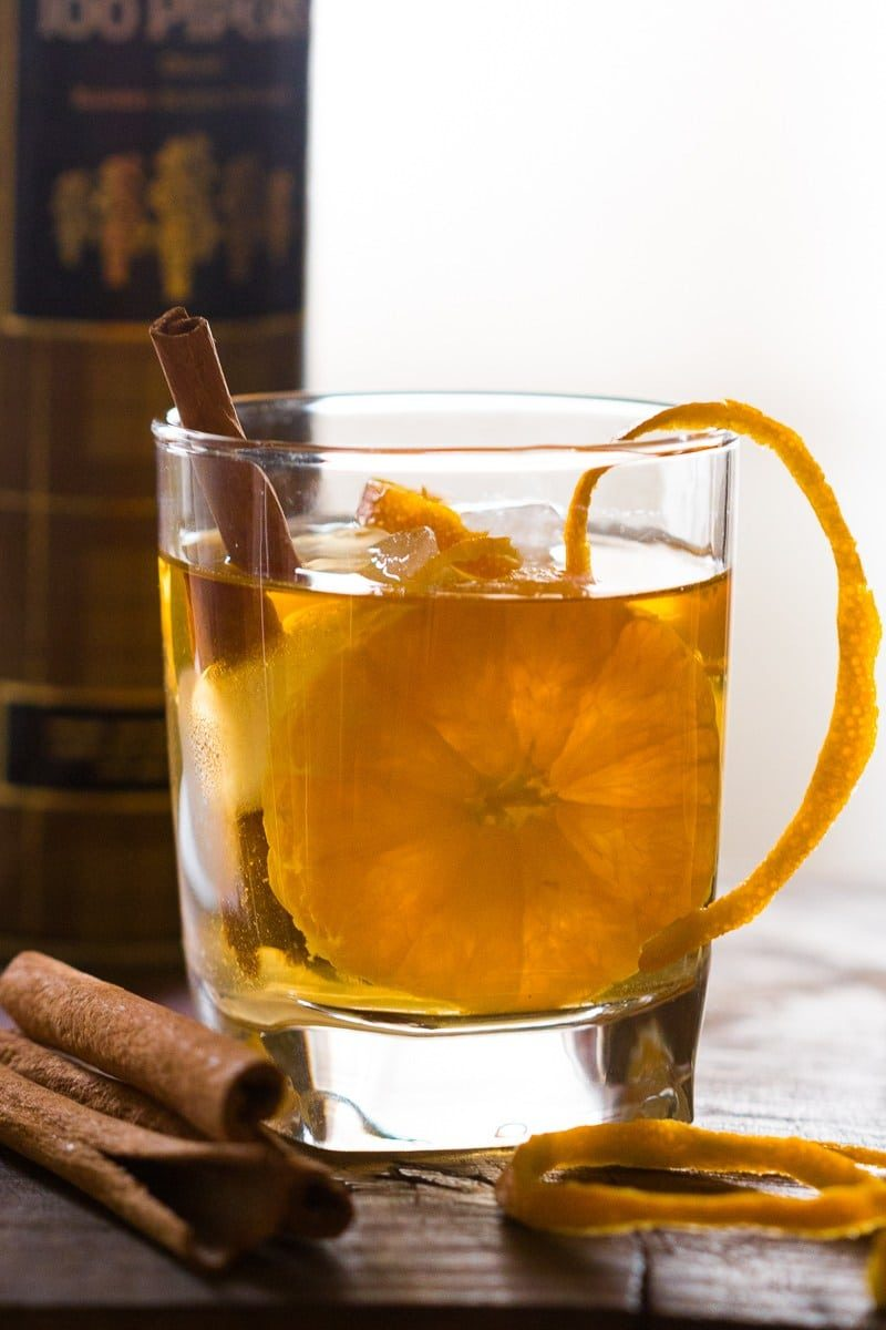 Orange Cinnamon Whisky Smash