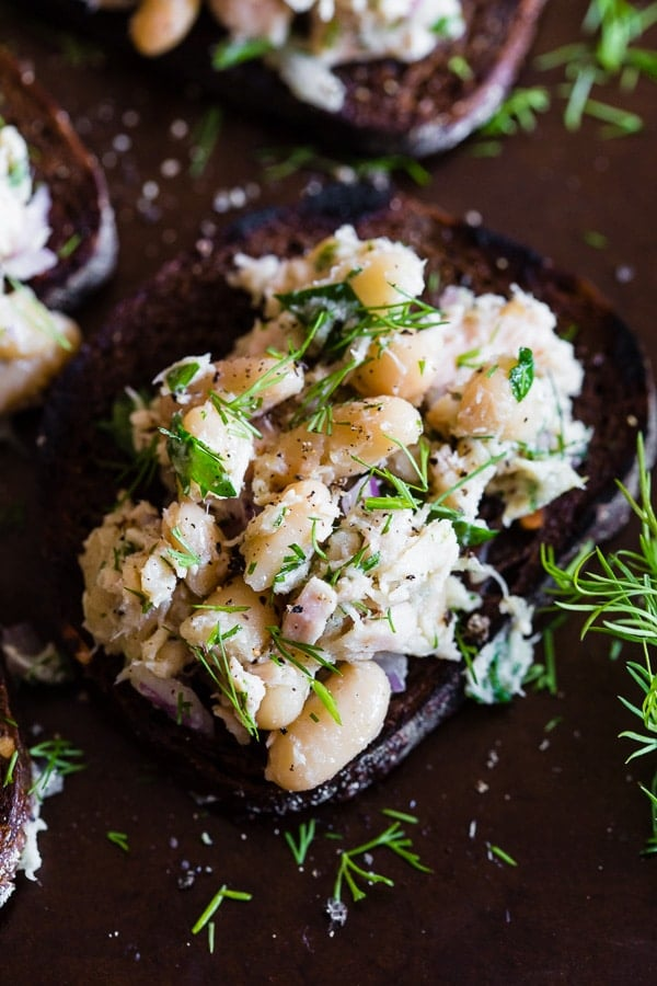 Tuna White Bean Herb Salad