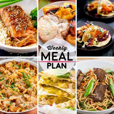 Weekly Meal Plan #41