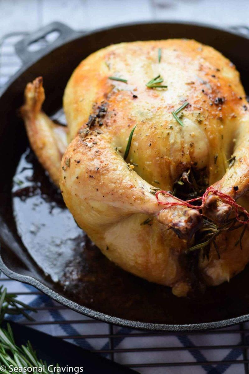 Roasted Rosemary Lemon Chicken