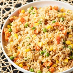 10 Minute Simple Egg Fried Rice