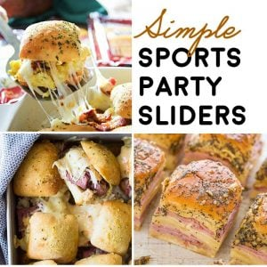 14 Simple Sports Party Sliders