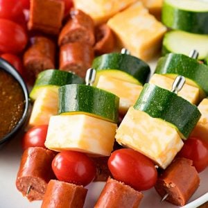 Easy Sausage Skewers