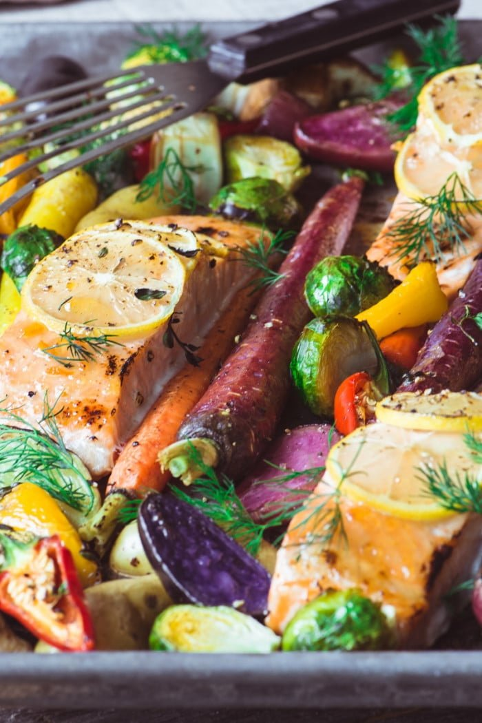 Melt-In-Your-Mouth Sheet Pan Salmon