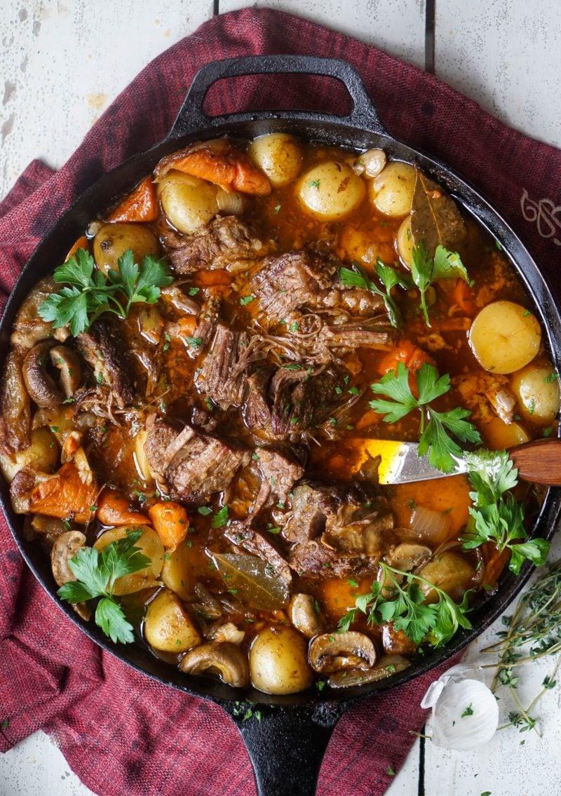 Skillet Pot Roast