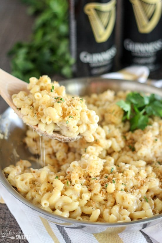 Guinness and Irish Cheddar Macaroni & Cheese