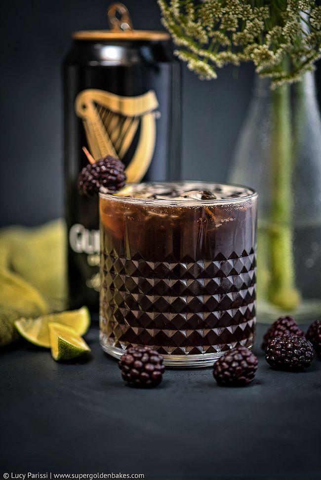 Guinness Black Magic Cocktail