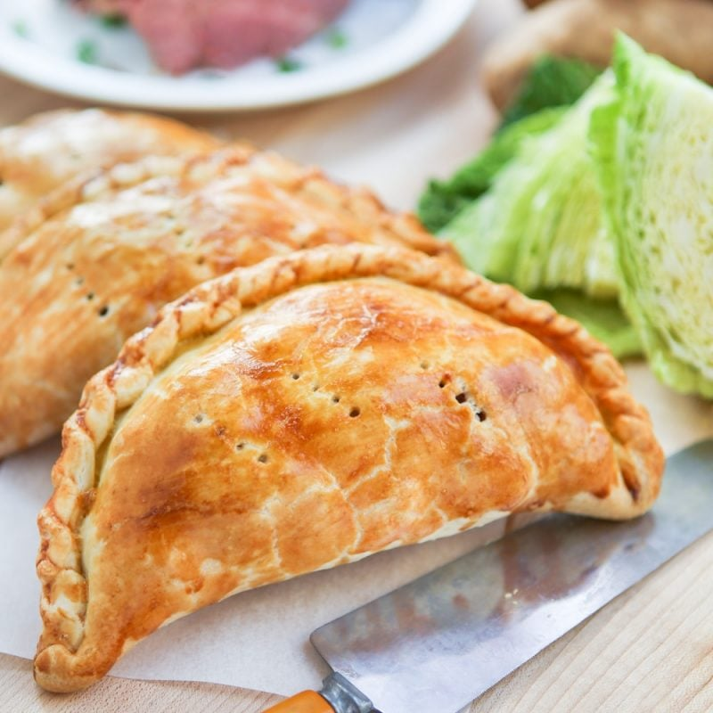 Corned Beef and Cabbage Pasties