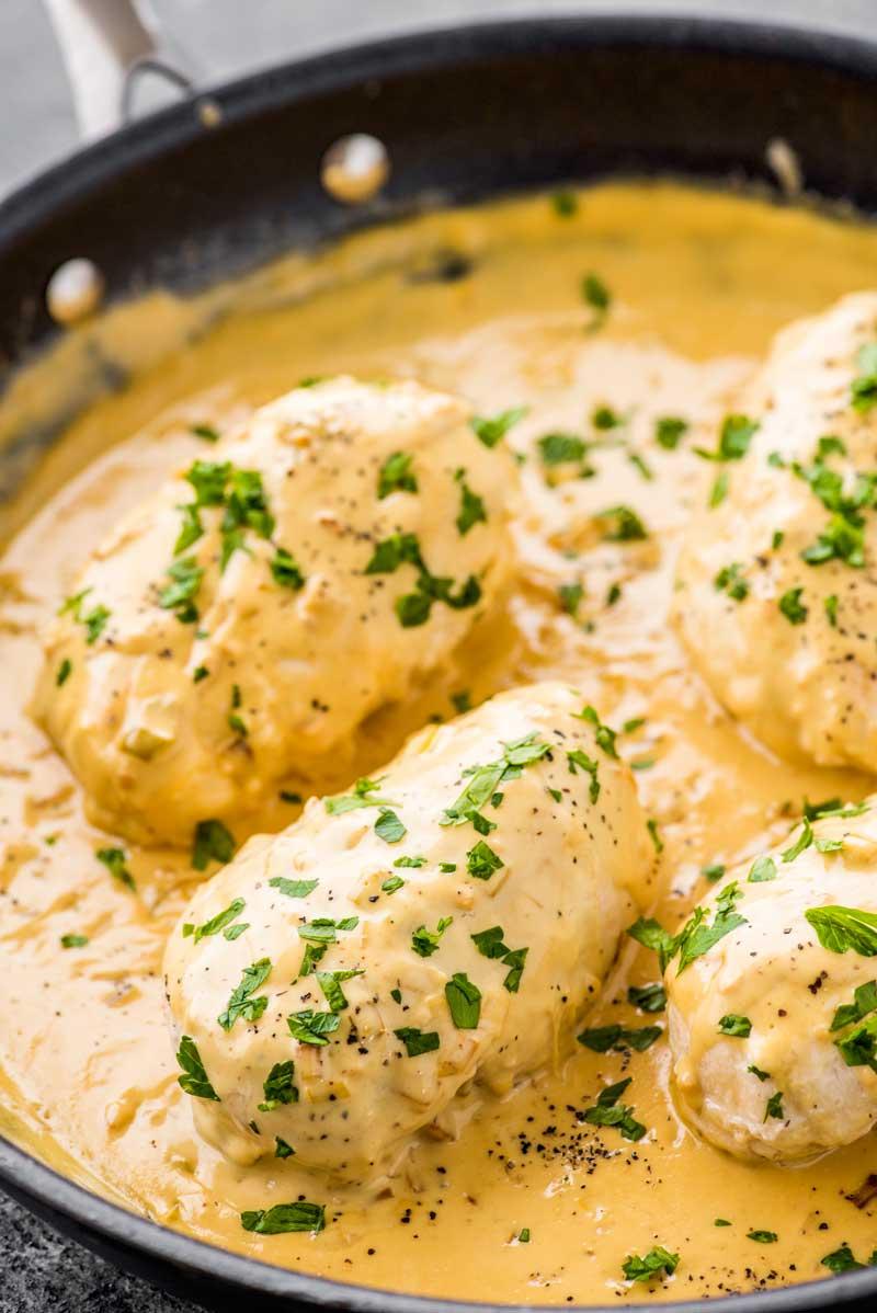 Creamy Dijon Chicken Homemade Hooplah