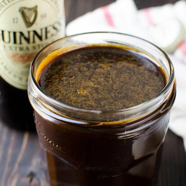 Luscious Stout Caramel Sauce