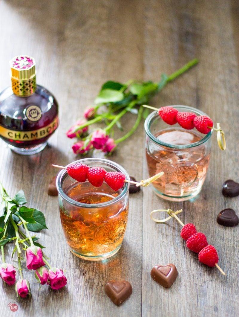 Raspberry Love Cocktail